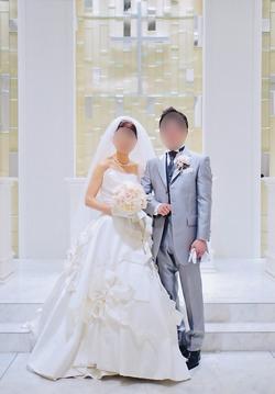 幸せ全開♪初々しい新婚さん